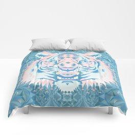Pastel Quartz Tiger Comforters