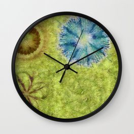 Empurples Mental Picture Flower  ID:16165-094016-44020 Wall Clock