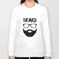 monster inc Long Sleeve T-shirts featuring BEARD INC. by WRDED