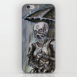 Under the Rain iPhone Skin