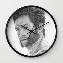 Logan Portrait Wall Clock
