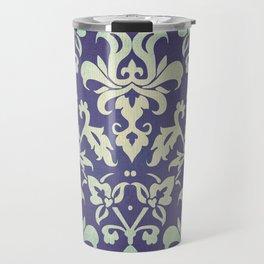 Olden damask pattern Travel Mug
