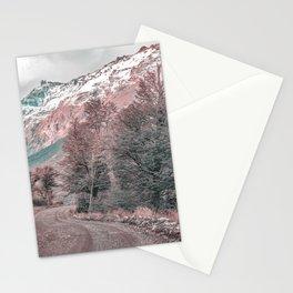 Gravel Empty Road - Parque Nacional Los Glaciares - Patagonia - Argentina Stationery Cards