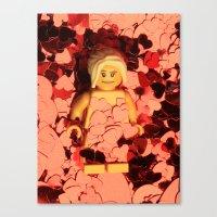 american beauty Canvas Prints featuring American Beauty by Studio Ten Media
