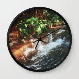 Kerosene Creek II Wall Clock