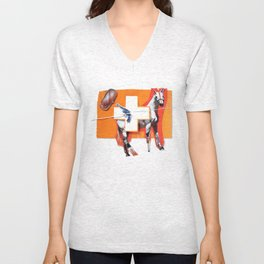 Canned Beans | Collage Unisex V-Neck