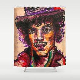 Hendrix Shower Curtain