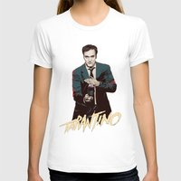 quentin tarantino T-shirts featuring Quentin by CromMorc