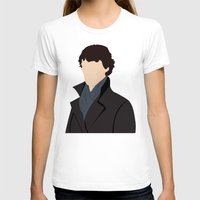 sherlock T-shirts featuring Sherlock by Jessica's Illustrationart