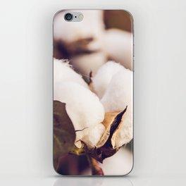 Cotton Field 24 iPhone Skin