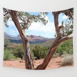 Arizona Horizon - Sedona Red Rocks Wall Tapestry