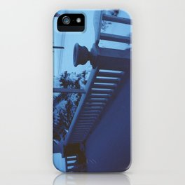 porch snow. iPhone Case