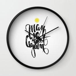 The 100: May we meet again Wall Clock