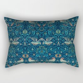 Bird by William Morris, 1878 Rectangular Pillow