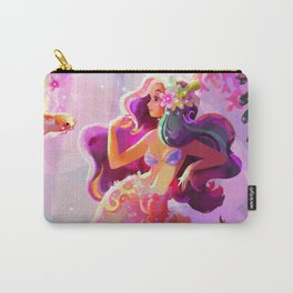 Neon Koi Carry-All Pouch