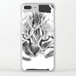 freedom for animals Clear iPhone Case