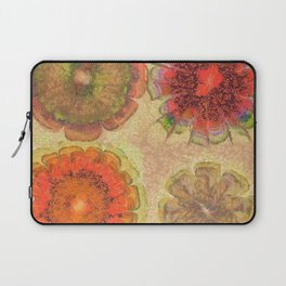 Nonpacificatory Structure Flowers  ID:16165-075207-87310 Laptop Sleeve