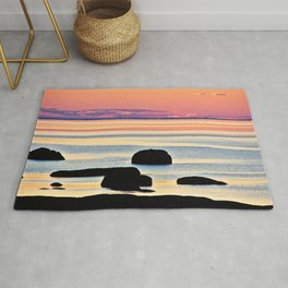 Painted Seas at Dusk Rug
