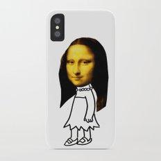 lisa simpson iPhone X Slim Case