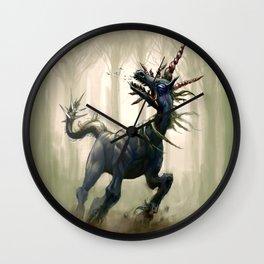 Pluricorn Wall Clock