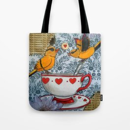 sweet parting Tote Bag