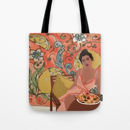 LEMON LADY Tote Bag