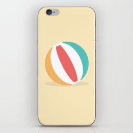 #37 Beachball iPhone Skin