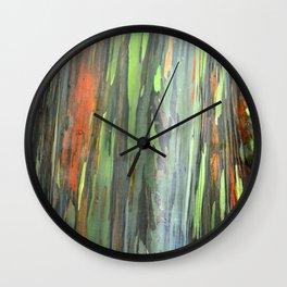 Eucalyptus Tree Honolulu Hawaii  Wall Clock