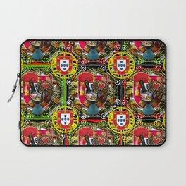 Galo de Barcelos, Portuguese Art Laptop Sleeve