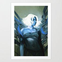 Pneuma - Blue version Art Print