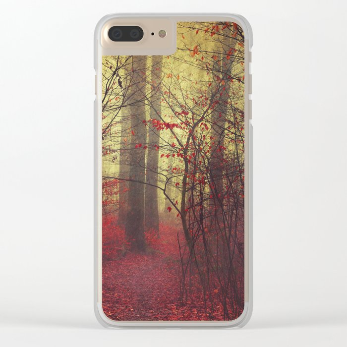 way in Clear iPhone Case