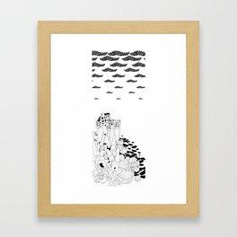 Hundertwasser's Teeth Framed Art Print