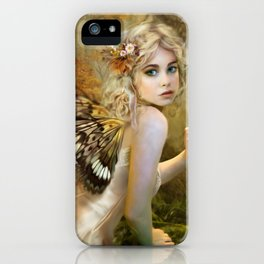 Touch of Gold - Fairy iPhone Case