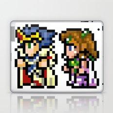 Final Fantasy II - Cecil and Rosa Laptop & iPad Skin