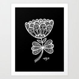 White Flower 92 Art Print