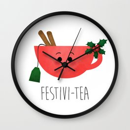 Festivi-tea Wall Clock