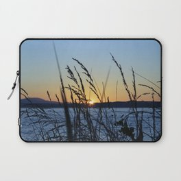 Sunset Sea Grass Laptop Sleeve