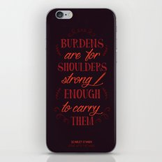 Gone with the Wind's Scarlet O'Hara iPhone & iPod Skin