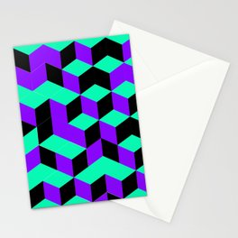 Isometric Steps Stationery Cards