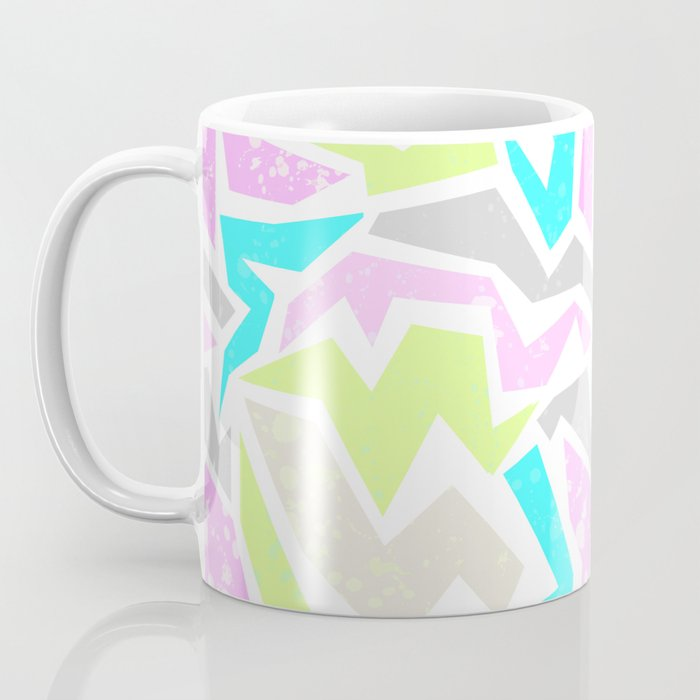 Abstract painting in pastel shades . Coffee Mug