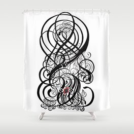 "Gothic ""L"" Shower Curtain"