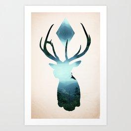 Oh my Deer! Art Print