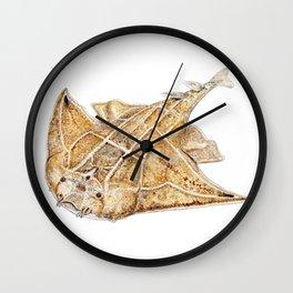 Angel shark Wall Clock