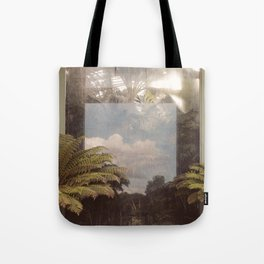 Sky in Glasshouse Tote Bag