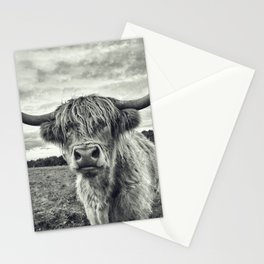 Highland Cow II Stationery Cards