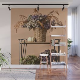 Beautiful dried bouquets Wall Mural