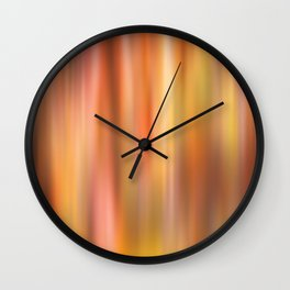 blurry color Wall Clock
