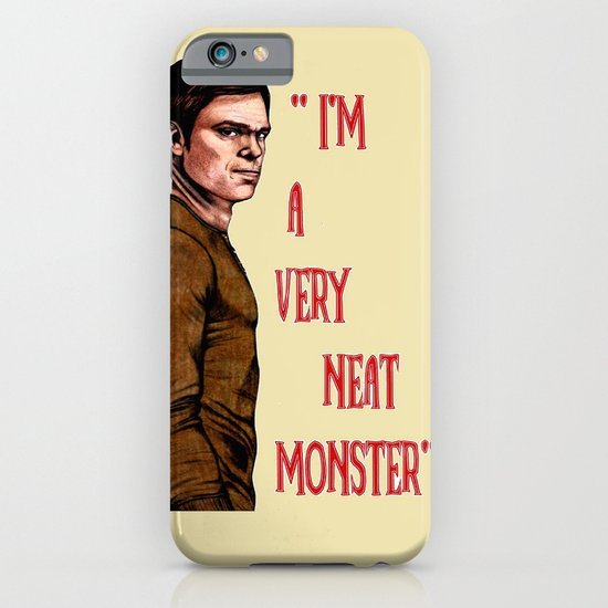Dexter Morgan  B&W iPhone & iPod Case