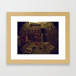 for the record... Framed Art Print