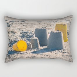 Sand Castle Rectangular Pillow